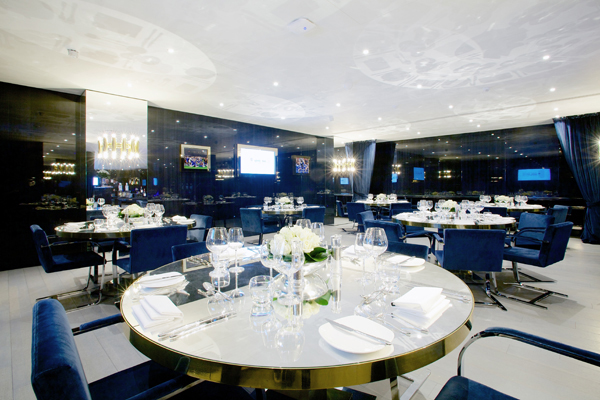 Marco Pierre White and the Directors Box, Chelsea FC.   Andy Carver ...